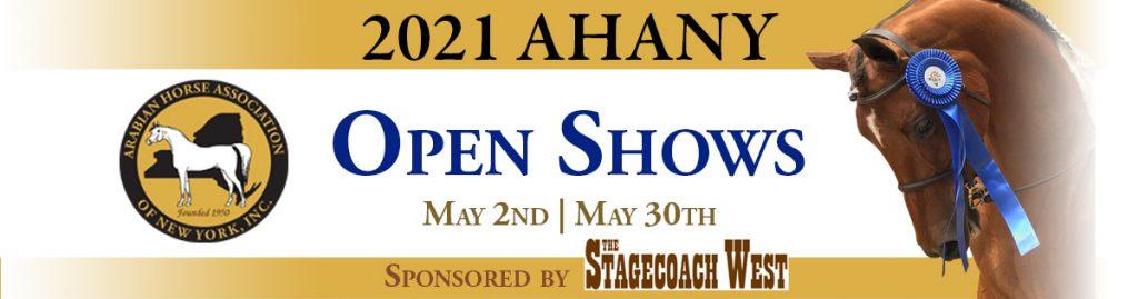 AHANY Open Show Banner